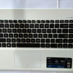 Keyboard Asus X450 Putih Plus Frame dan Touchpad