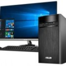 ASUS [90PD01R2-M05860] K31CD-ID010D (CORE I3, 4GB, 1TB, DOS, 18.5 INCH) DESKTOP PC