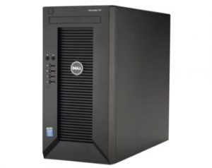 DELL PowerEdge T30 – Intel Xeon E3-1225 v5 – 8 GB RAM – 1 TB – Hitam