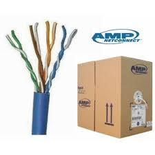 Kabel UTP Cat 6 AMP @305 m